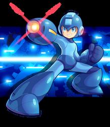 Blue Bomber by ultimatemaverickx