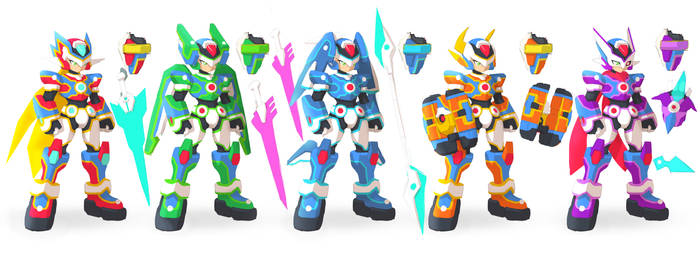 MMZX Models Reimagined