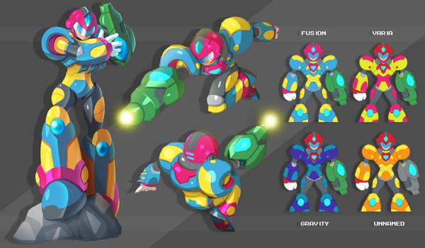 X - Fusion Armor