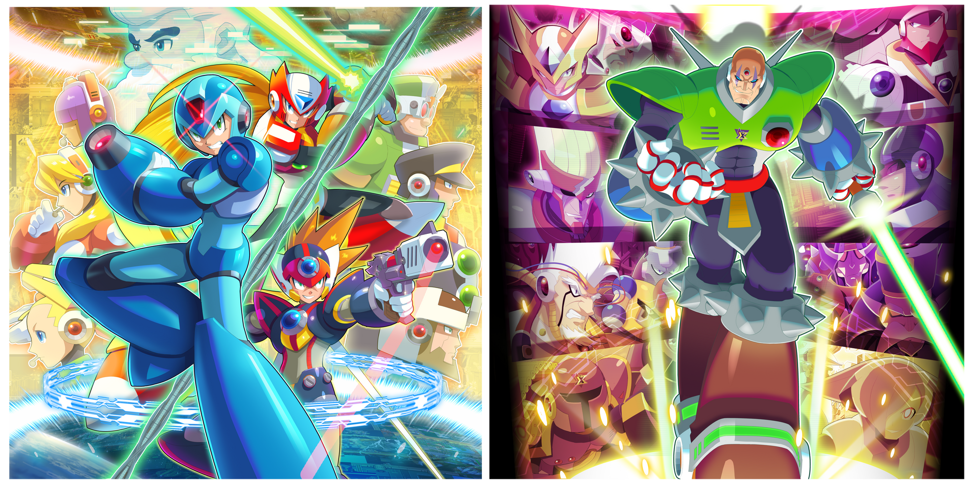 MMX 1-8: The Collection Vinyl OST Box Arts