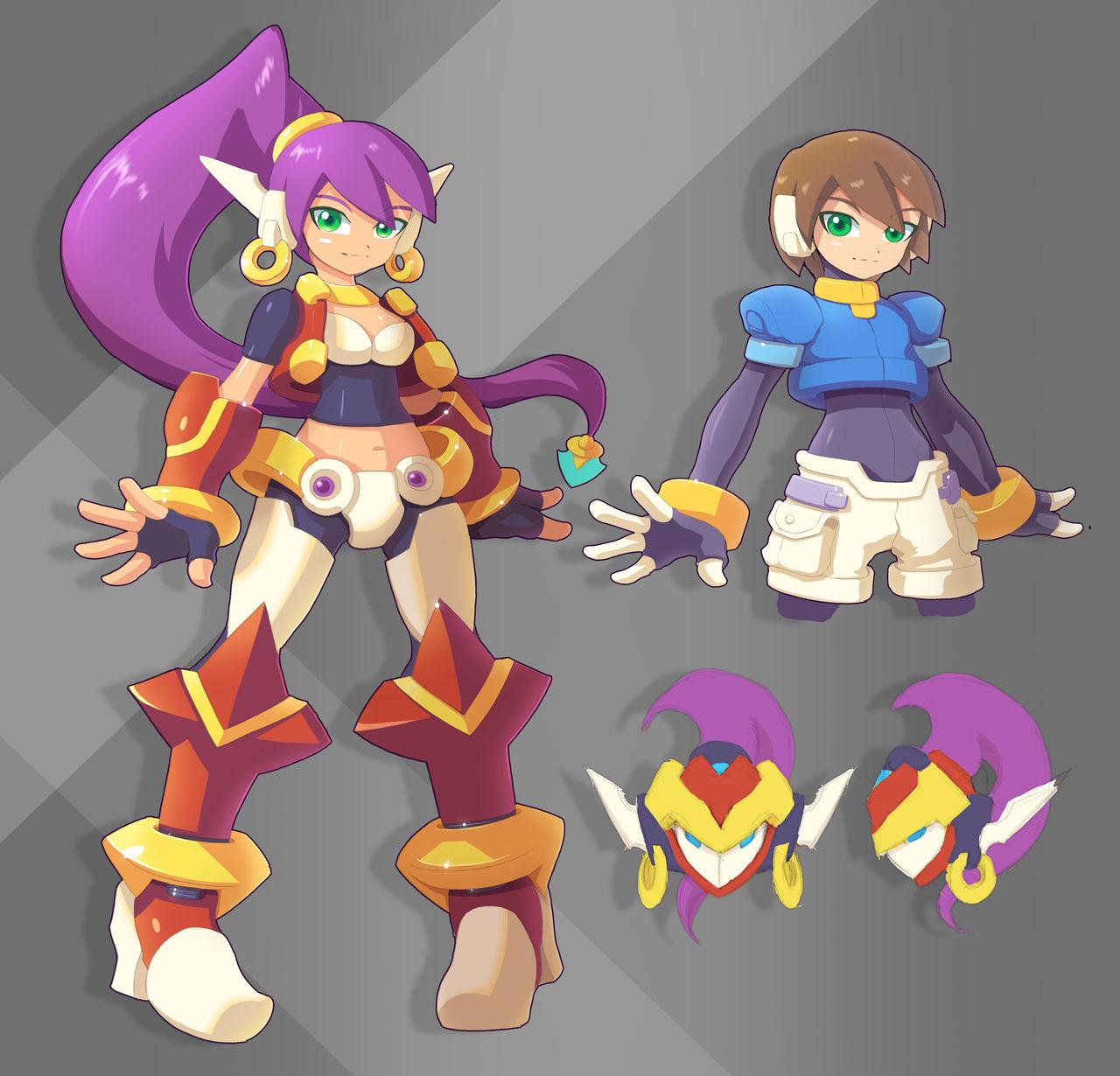 Model Shantae