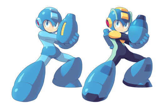 Mega - MegaMan.EXE Armor
