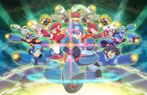 Legacy (Megaman 33rd Anniversary Art)