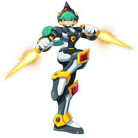 Commission: Marino - Shadow Armor