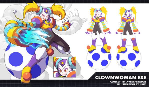Commission: ClownWoman.EXE