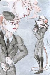 OC Profile. Elsa Milch by Amaryllex