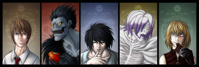 Death Note: Personal Top 5 Fav Characters