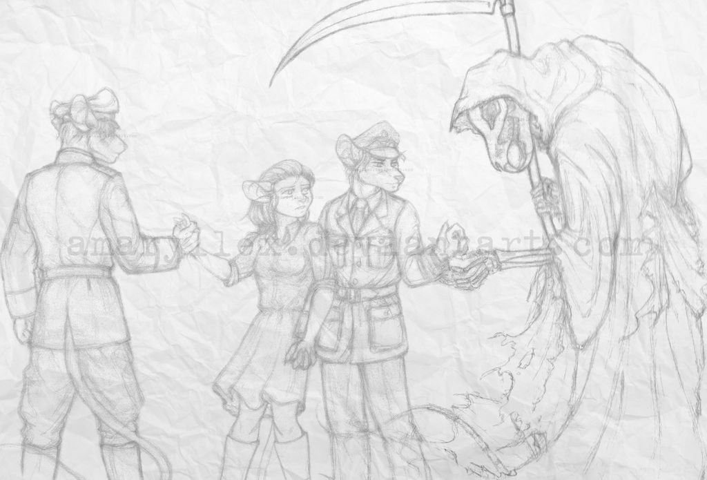 Fateful Choice - redraw (sketch)