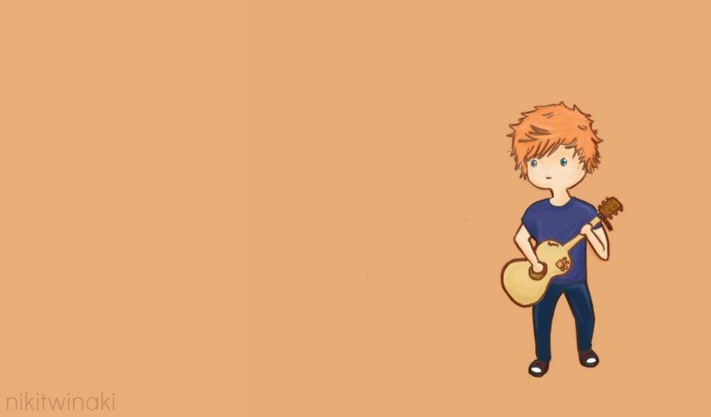 Ed Sheeran Wallpaper by Nikitwinaki on DeviantArt