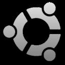 Silver Ubuntu Logo
