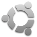 Silver Ubuntu Logo by JackC64