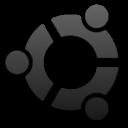 Dark Ubuntu Logo