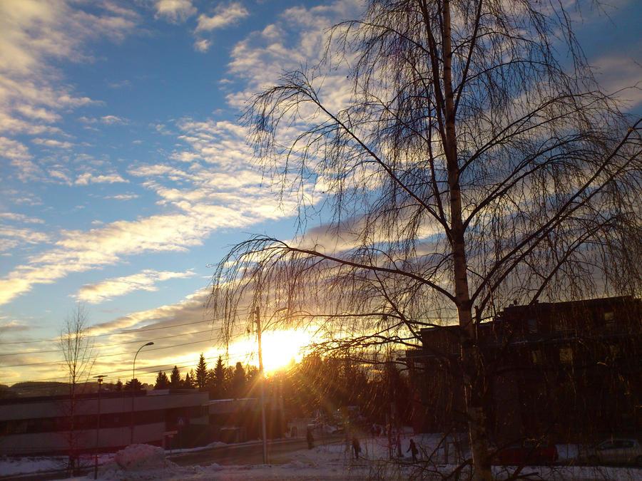 beautiful sky by AriLei