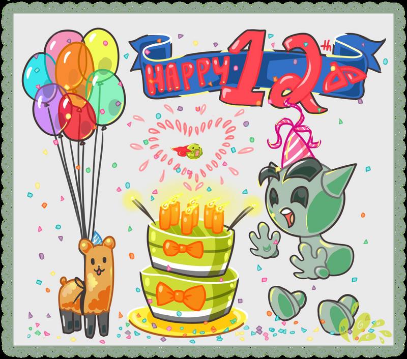Th Birthday Boy Cake Animated
