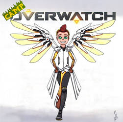 Camp Overwatch David by DragonWorlock