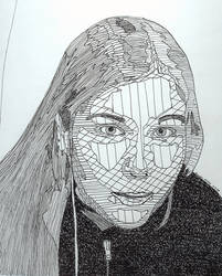 self-portrait by AmandaTheStampede