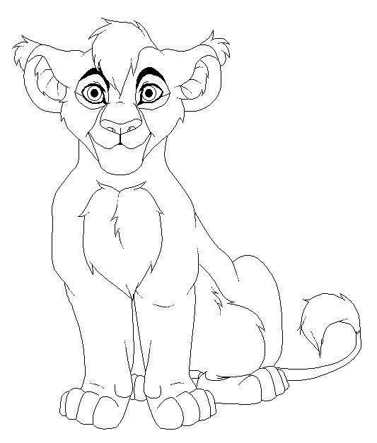 Base Male Lion Cub By Kimster890 On DeviantArt