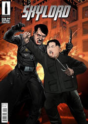 Kim Jong-un versus Hitler commission by skylord2086
