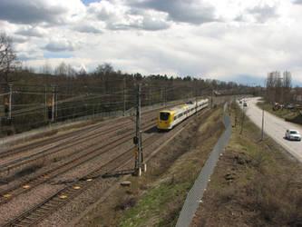 Arlanda Express Norrviken 04.2017 by radiolov
