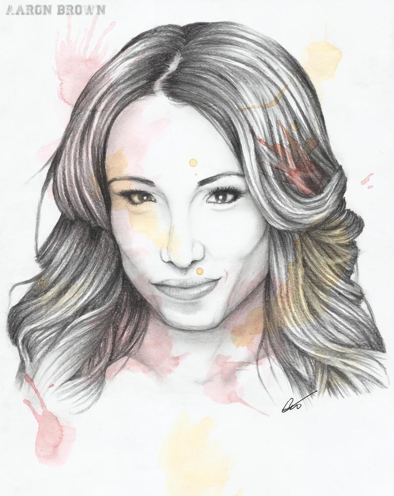 Sasha Banks by AaronAZZAbrown on