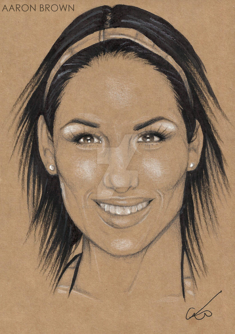 Brie Bella by AaronAZZAbrown