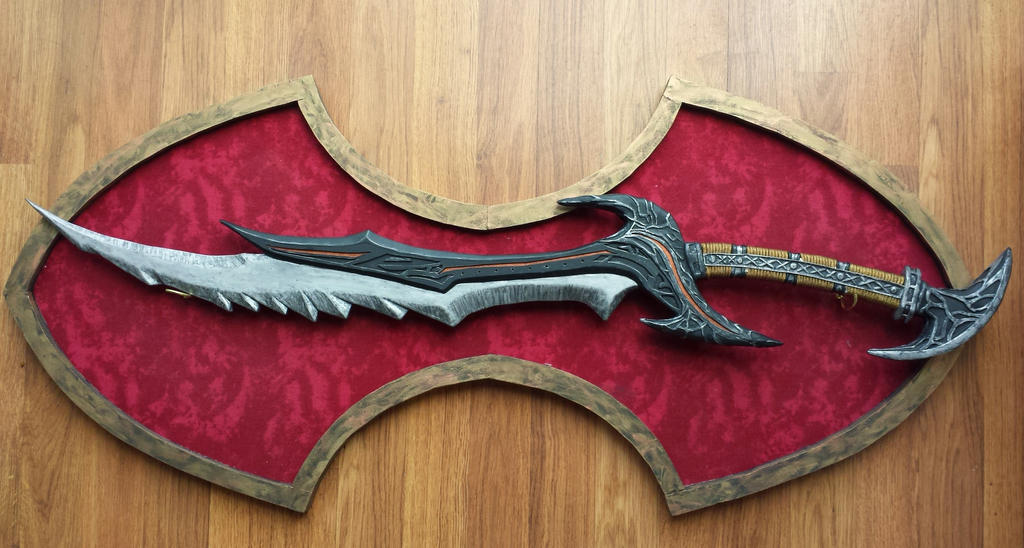 Daedric Sword - Skyrim by gedionki
