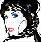 Kat Von D by ladyconniver