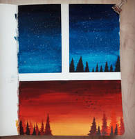 Gouache Studies by ReaperBunny