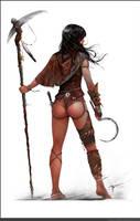 Witch doctor by czarnystefan