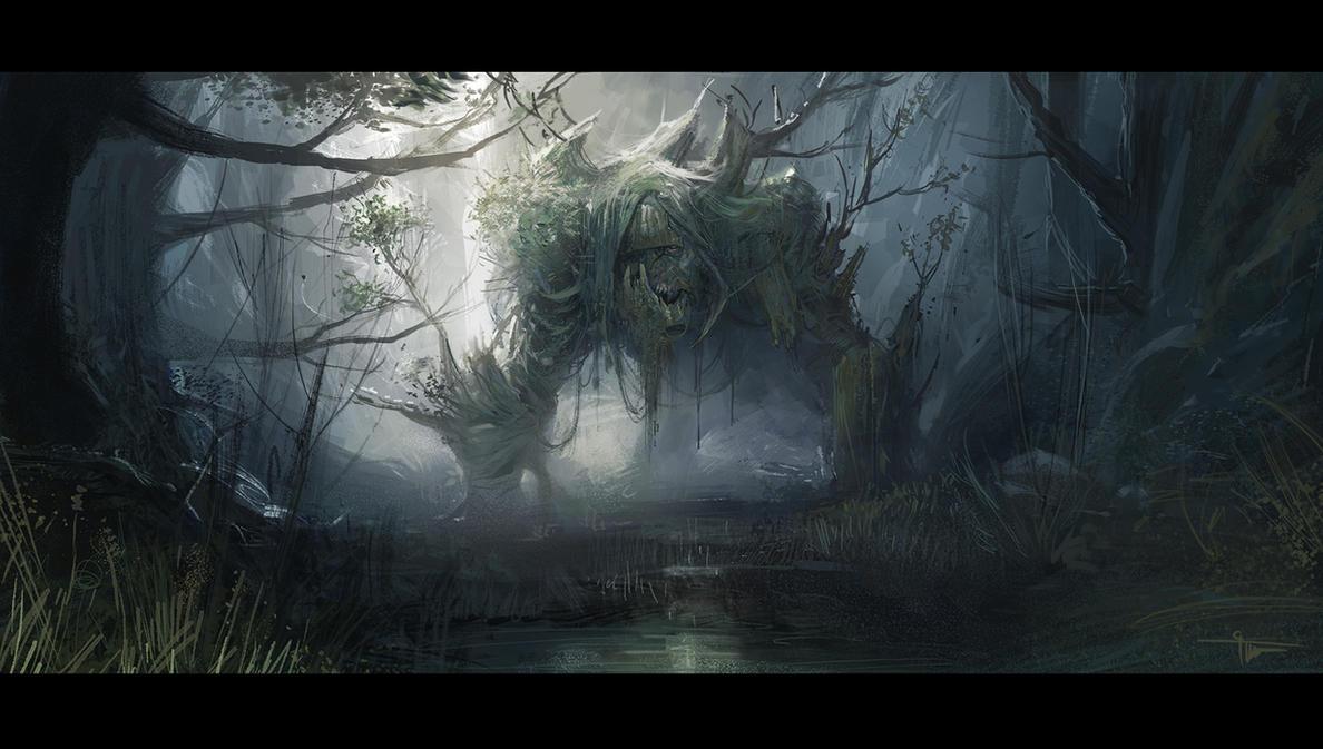 Forest by czarnystefan