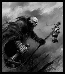 gloomy wanderer by czarnystefan