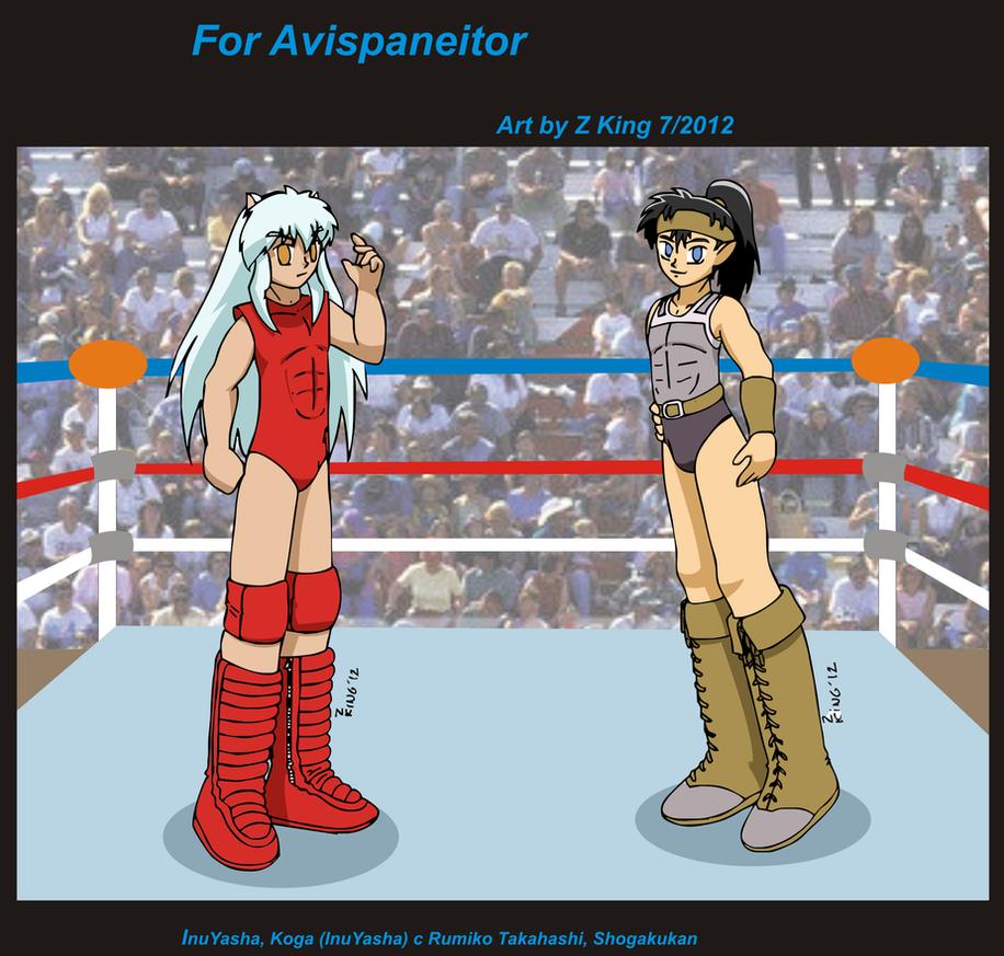 Gift for Avispaneitor part 1 by zkfanart