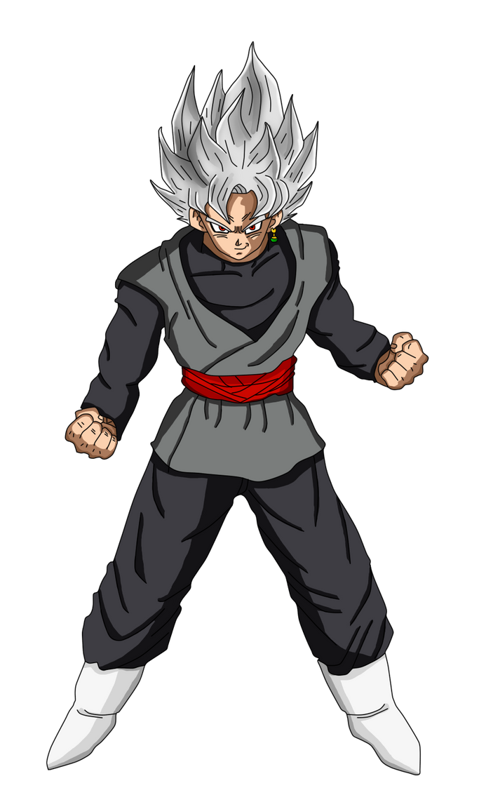 black goku ssj1 by hiroshiianabamodder on deviantart