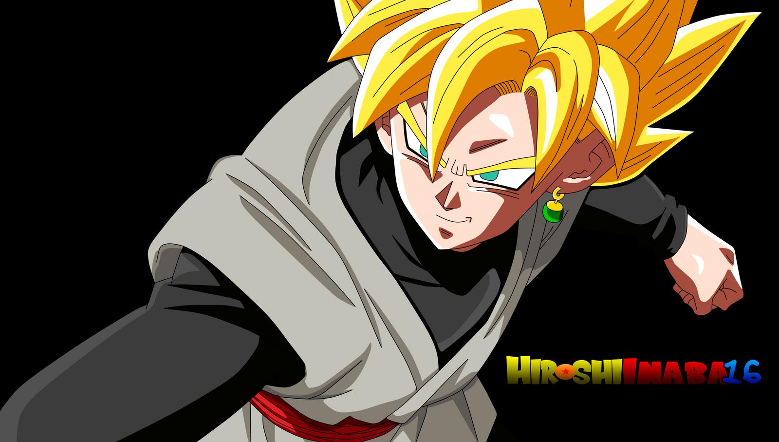 Black Goku ssj Normal by HiroshiIanabaModder on DeviantArt