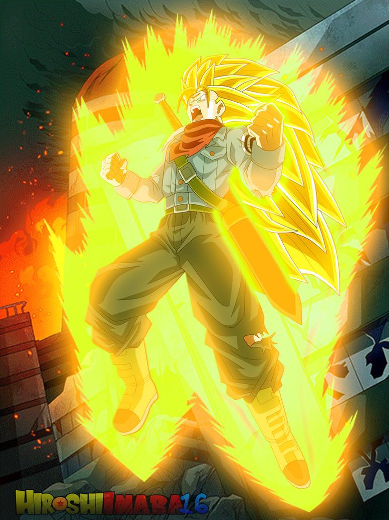 Download SSJ3 Goku wallpaper iphone