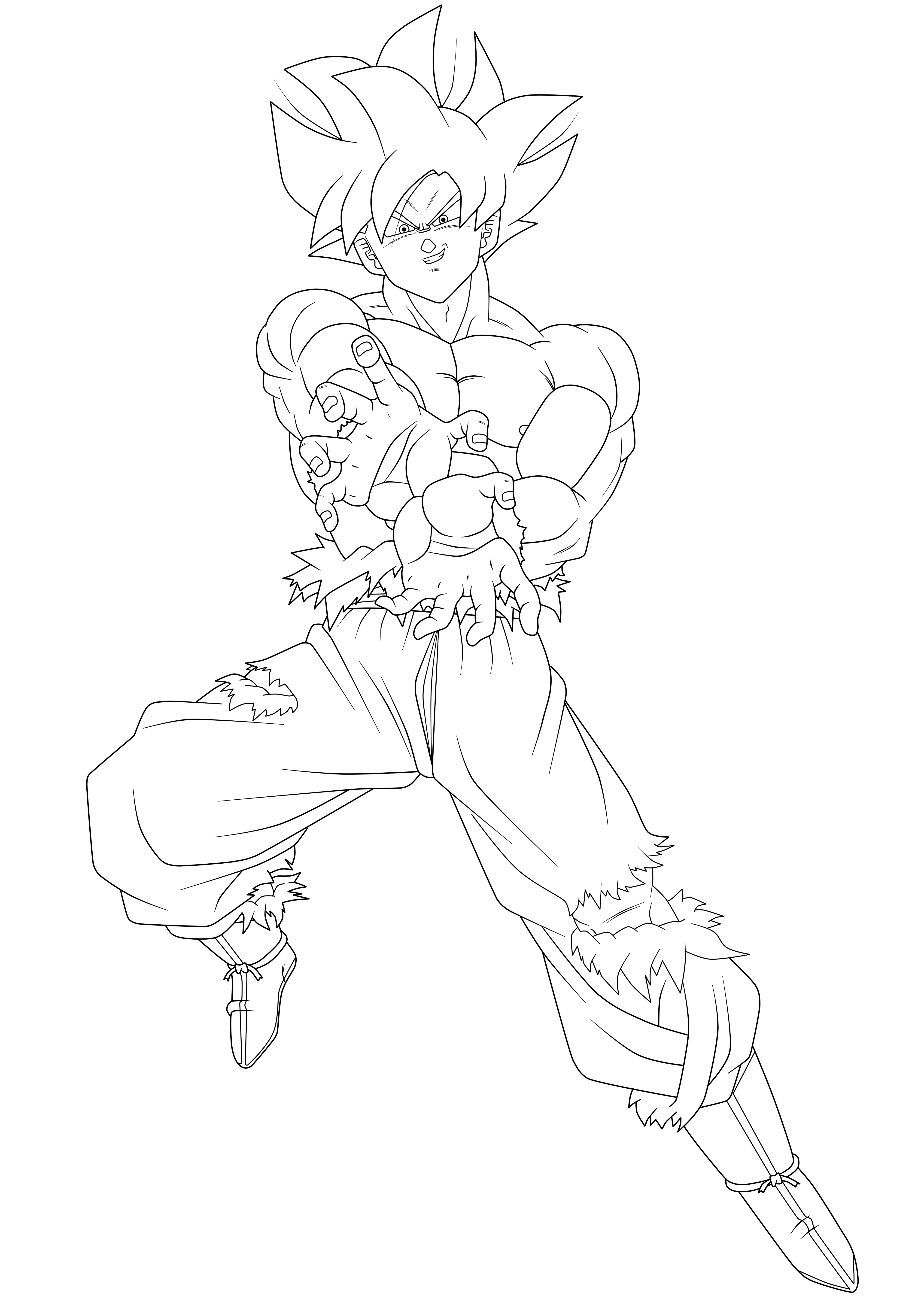 Migatte no Goku Lineart by HiroshiIanabaModder on DeviantArt