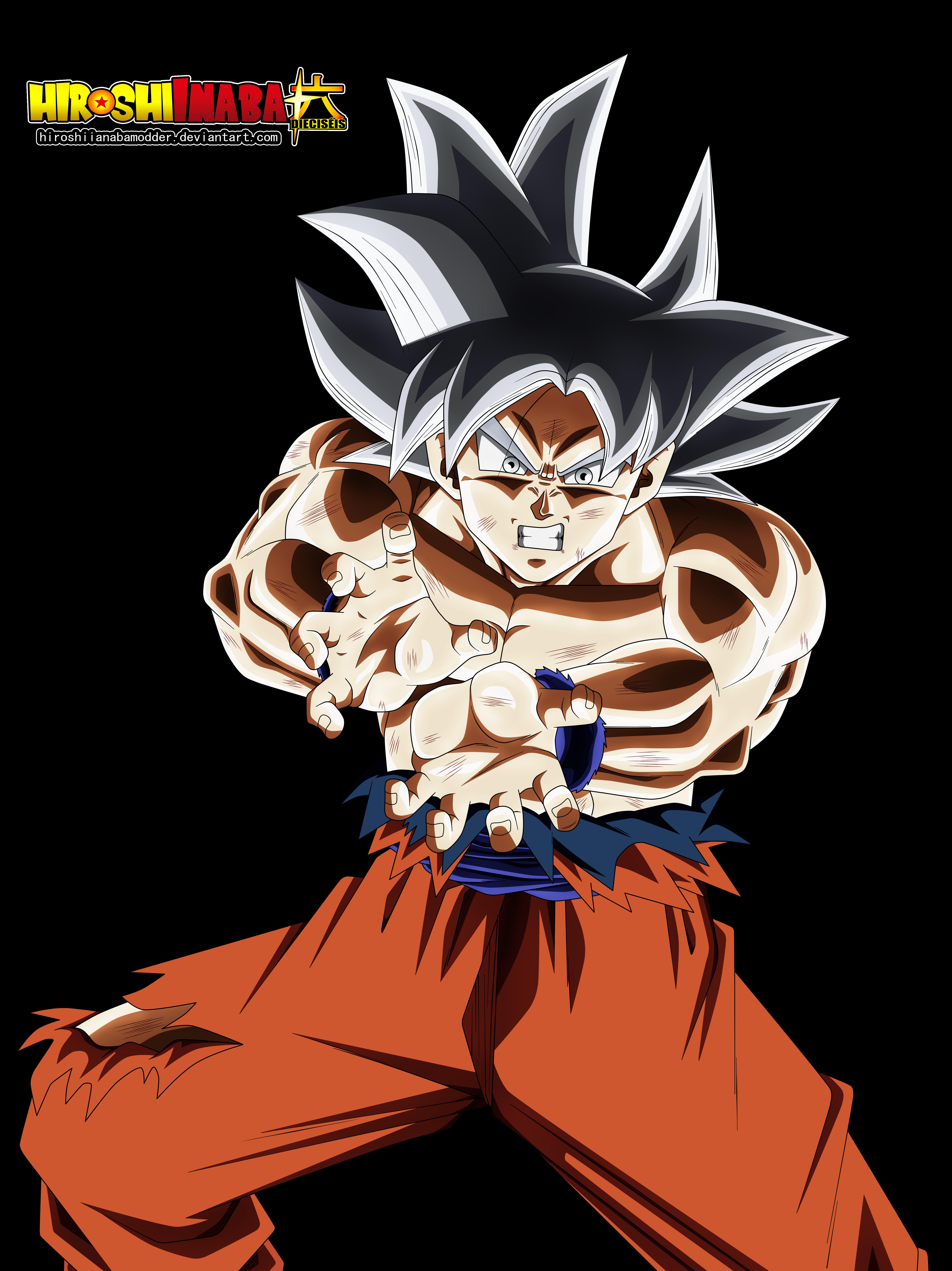 Goku Ultra Instinto Perfecto By Hiroshiianabamodder On Deviantart