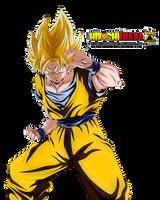 Goku Super Saiyajin by HiroshiIanabaModder