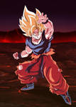 Goku Super Saiyajin Poster
