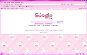 My Hello Kitty Google by LadyPinkilicious