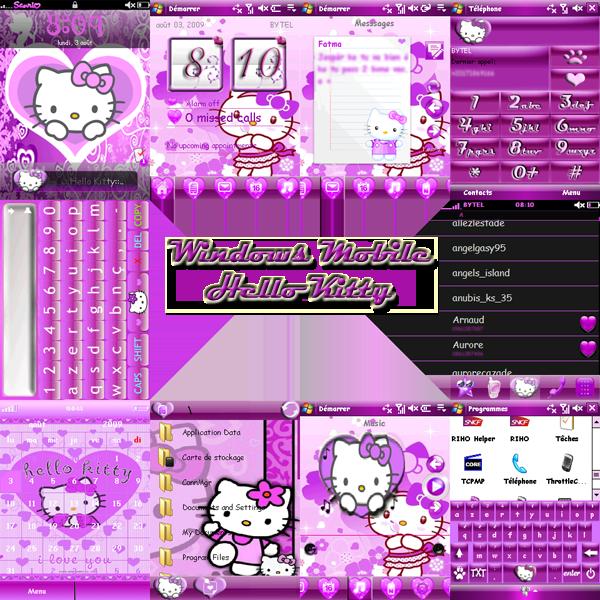 Hello Kitty Windows Mobile PDA by LadyPinkilicious on DeviantArt