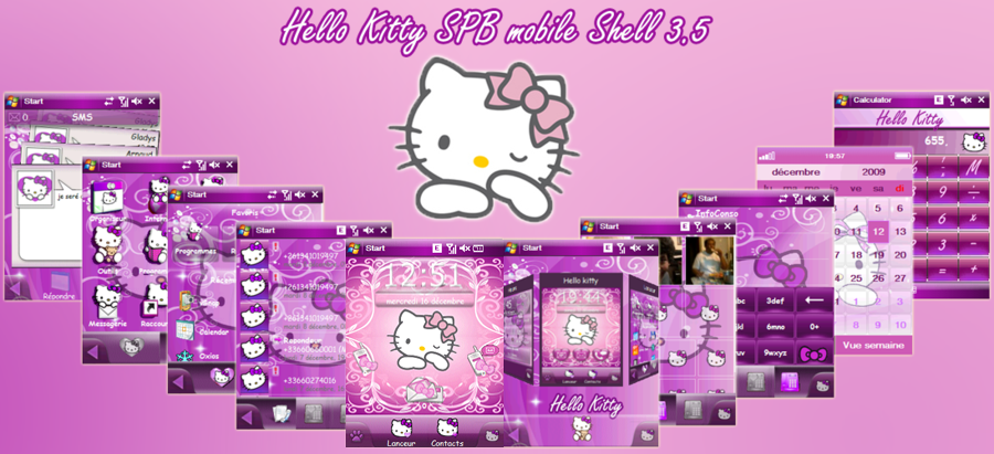 Hello Kitty windows mobile
