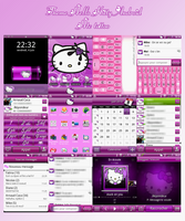My Hello Kitty theme Android by LadyPinkilicious