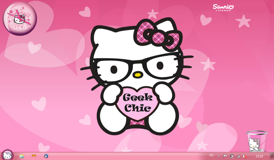 My Hello Kitty Theme For Windows 7 Starter By LadyPinkilicious ...
