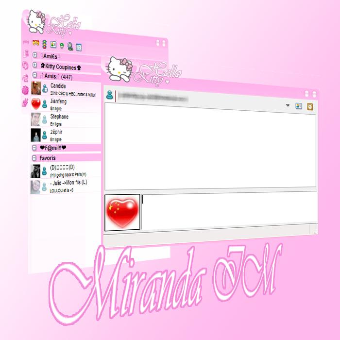 My Hello Kitty Miranda IM by LadyPinkilicious