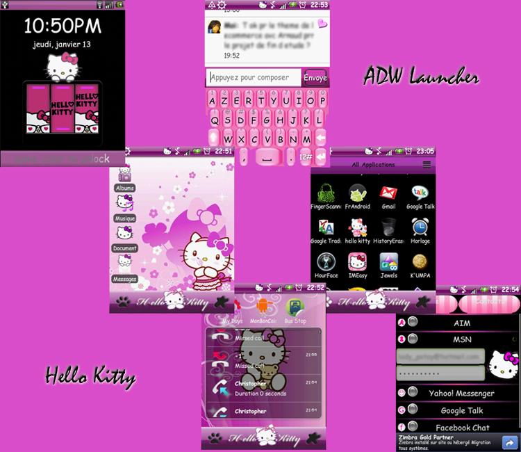 Hello Kitty theme Android by LadyPinkilicious on DeviantArt