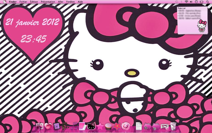 Hello Kitty Big Bow Theme Mac by LadyPinkilicious on DeviantArt