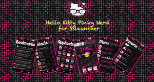 Hello Kitty pink Nerd SSlauncher by LadyPinkilicious
