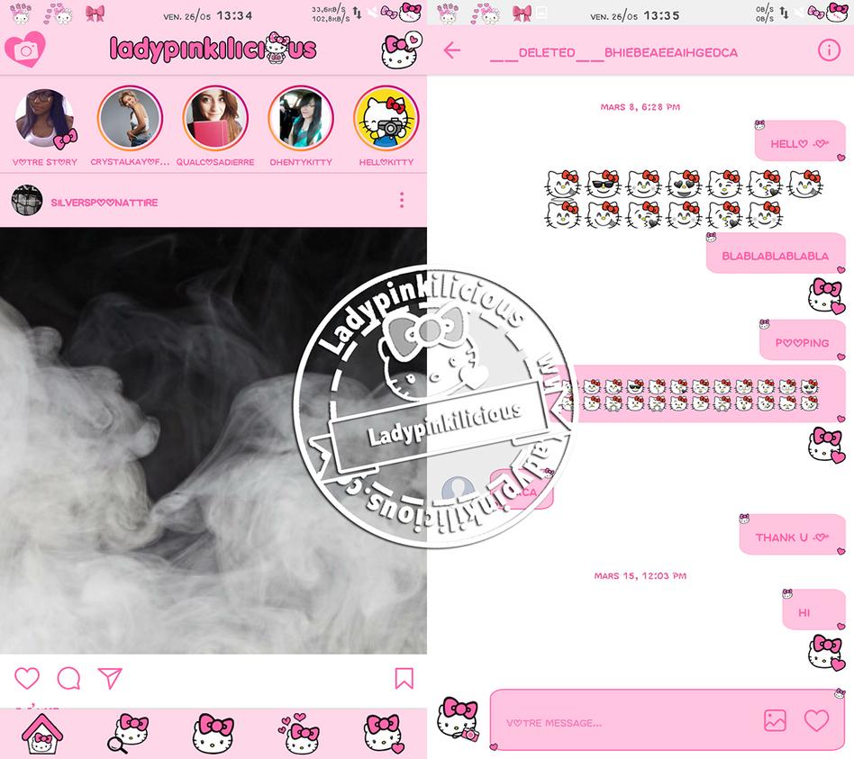 Hello Kitty instagram v10.22 by LadyPinkilicious