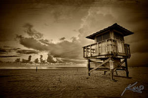 Singer Island Beach by CaptainKimo